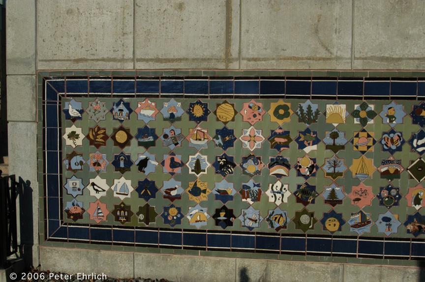 (243k, 864x574)<br><b>Country:</b> United States<br><b>City:</b> Bayonne, NJ<br><b>System:</b> Hudson Bergen Light Rail<br><b>Location:</b> East 45th Street <br><b>Photo by:</b> Peter Ehrlich<br><b>Date:</b> 1/25/2006<br><b>Notes:</b> Artwork.<br><b>Viewed (this week/total):</b> 1 / 1441