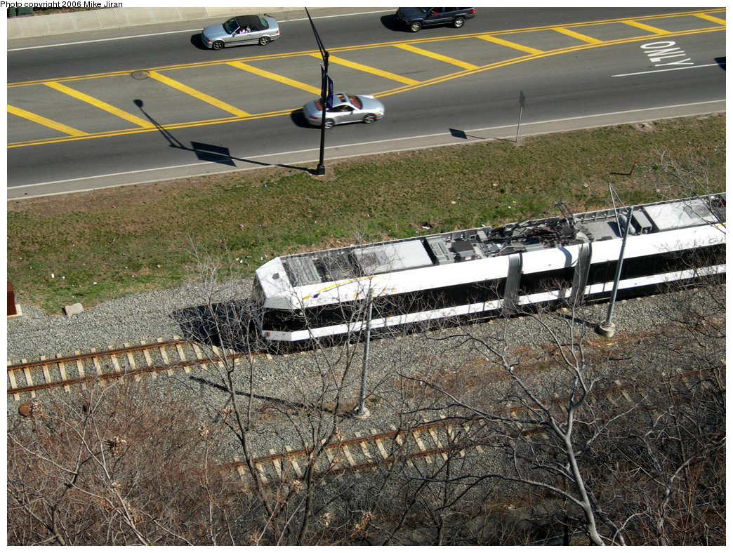 (353k, 1044x788)<br><b>Country:</b> United States<br><b>City:</b> Weehawken, NJ<br><b>System:</b> Hudson Bergen Light Rail<br><b>Location:</b> Port Imperial <br><b>Photo by:</b> Mike Jiran<br><b>Date:</b> 4/2/2006<br><b>Viewed (this week/total):</b> 0 / 1729