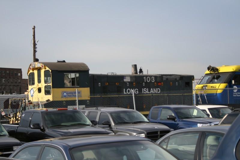 (85k, 800x533)<br><b>Country:</b> United States<br><b>City:</b> New York<br><b>System:</b> Long Island Rail Road<br><b>Line:</b> LIRR Long Island City<br><b>Location:</b> Long Island City <br><b>Car:</b> LIRR SW1001 (Diesel) 103 <br><b>Photo by:</b> Neil Feldman<br><b>Viewed (this week/total):</b> 1 / 1569
