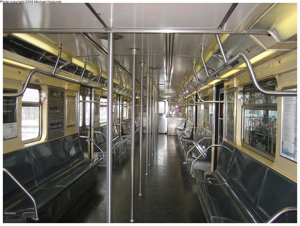 (193k, 1044x788)<br><b>Country:</b> United States<br><b>City:</b> New York<br><b>System:</b> New York City Transit<br><b>Line:</b> BMT Culver Line<br><b>Location:</b> Kings Highway <br><b>Route:</b> F<br><b>Car:</b> R-32 (GE Rebuild) 3881 <br><b>Photo by:</b> Michael Hodurski<br><b>Date:</b> 4/14/2006<br><b>Viewed (this week/total):</b> 2 / 3759