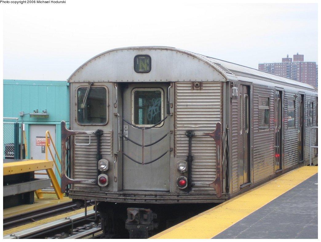 (143k, 1044x788)<br><b>Country:</b> United States<br><b>City:</b> New York<br><b>System:</b> New York City Transit<br><b>Location:</b> Coney Island/Stillwell Avenue<br><b>Route:</b> N<br><b>Car:</b> R-32 (Budd, 1964)  3776 <br><b>Photo by:</b> Michael Hodurski<br><b>Date:</b> 4/14/2006<br><b>Viewed (this week/total):</b> 0 / 2378