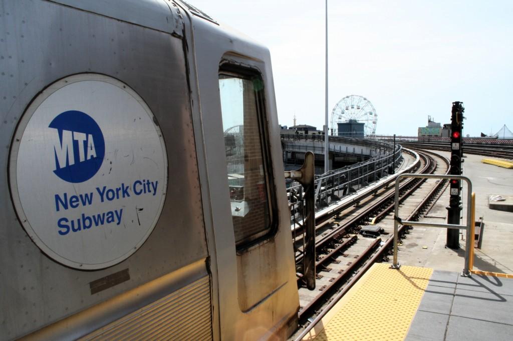 (169k, 1024x682)<br><b>Country:</b> United States<br><b>City:</b> New York<br><b>System:</b> New York City Transit<br><b>Location:</b> Coney Island/Stillwell Avenue<br><b>Car:</b> R-40 (St. Louis, 1968)   <br><b>Photo by:</b> Todd Glickman<br><b>Date:</b> 4/16/2006<br><b>Viewed (this week/total):</b> 0 / 3362