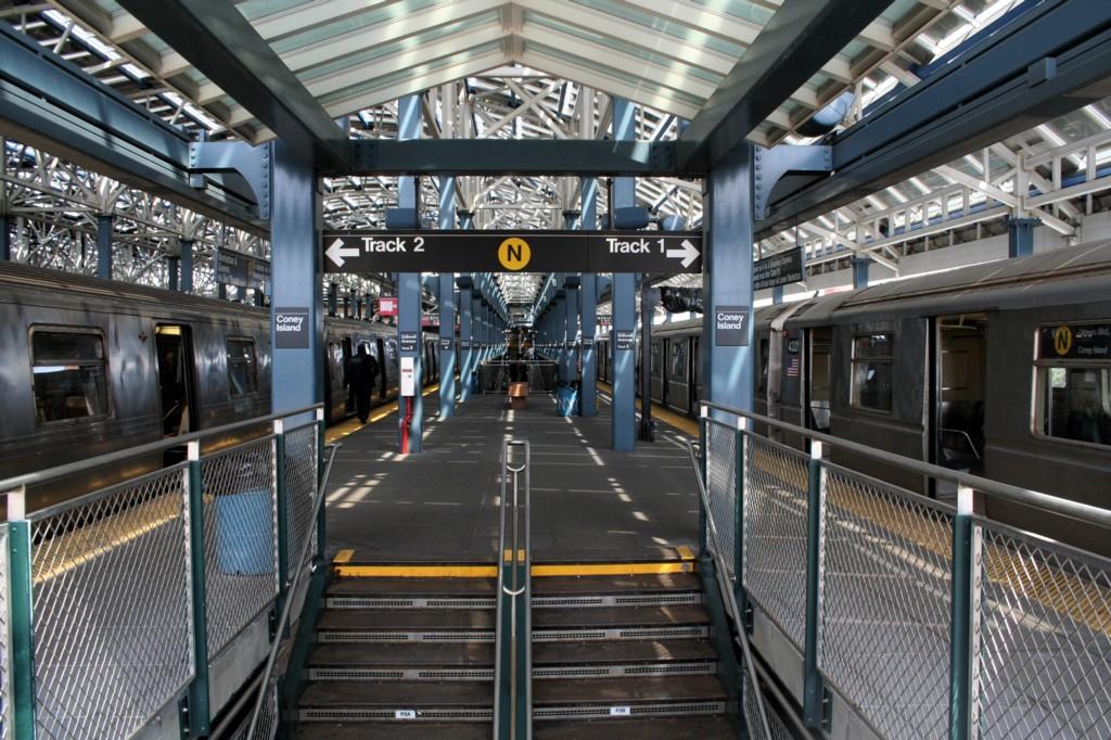 (254k, 1024x682)<br><b>Country:</b> United States<br><b>City:</b> New York<br><b>System:</b> New York City Transit<br><b>Location:</b> Coney Island/Stillwell Avenue<br><b>Photo by:</b> Todd Glickman<br><b>Date:</b> 4/16/2006<br><b>Viewed (this week/total):</b> 0 / 2332