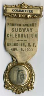 (33k, 153x334)<br><b>Country:</b> United States<br><b>City:</b> New York<br><b>System:</b> New York City Transit<br><b>Collection of:</b> George Cuhaj<br><b>Notes:</b> Fourth Avenue (Brooklyn) subway celebration, Nov. 13, 1909.<br><b>Viewed (this week/total):</b> 0 / 3776