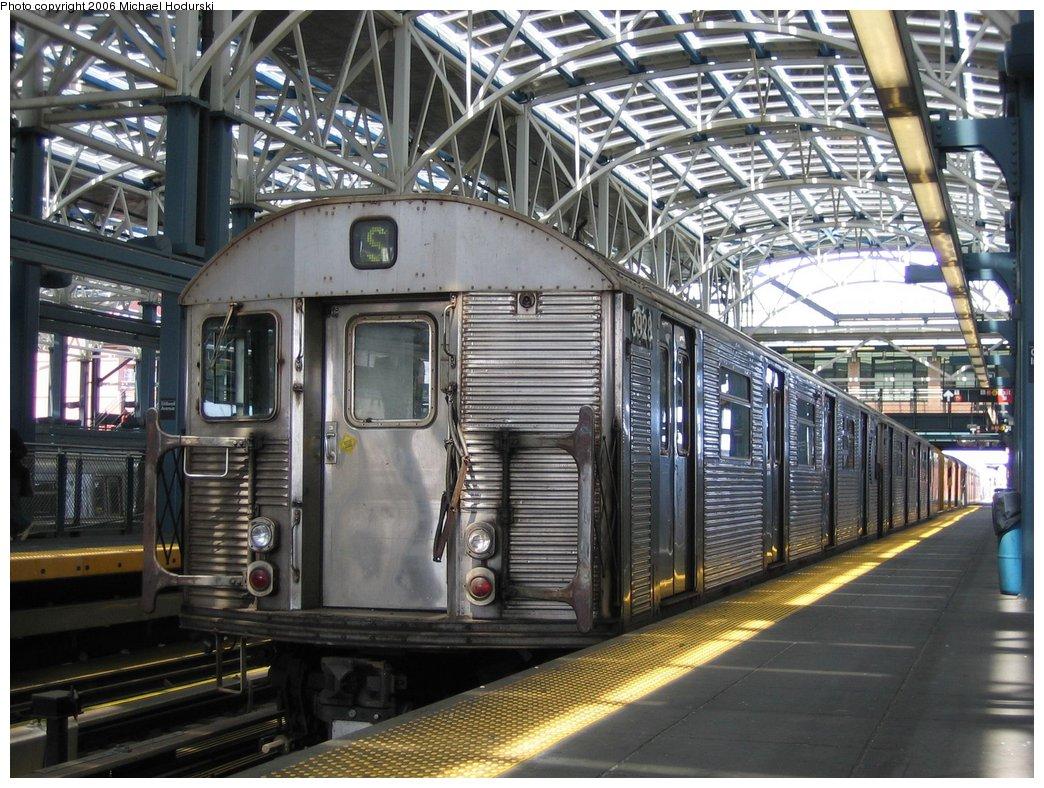 (221k, 1044x788)<br><b>Country:</b> United States<br><b>City:</b> New York<br><b>System:</b> New York City Transit<br><b>Location:</b> Coney Island/Stillwell Avenue<br><b>Route:</b> Work Service<br><b>Car:</b> R-32 (Budd, 1964)  3928 <br><b>Photo by:</b> Michael Hodurski<br><b>Date:</b> 4/21/2006<br><b>Viewed (this week/total):</b> 3 / 3172