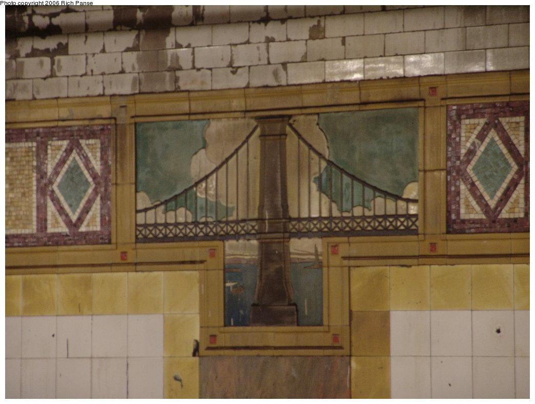 (148k, 1044x788)<br><b>Country:</b> United States<br><b>City:</b> New York<br><b>System:</b> New York City Transit<br><b>Line:</b> BMT Nassau Street/Jamaica Line<br><b>Location:</b> Chambers Street <br><b>Photo by:</b> Richard Panse<br><b>Date:</b> 4/27/2006<br><b>Viewed (this week/total):</b> 0 / 4202