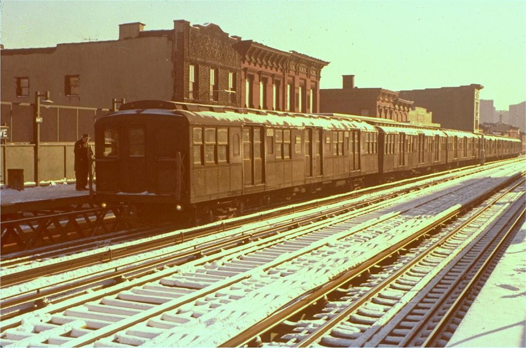 (214k, 1024x679)<br><b>Country:</b> United States<br><b>City:</b> New York<br><b>System:</b> New York City Transit<br><b>Line:</b> BMT Nassau Street/Jamaica Line<br><b>Location:</b> Marcy Avenue <br><b>Car:</b> BMT A/B-Type Standard 2414 <br><b>Collection of:</b> Joe Testagrose<br><b>Viewed (this week/total):</b> 0 / 2713