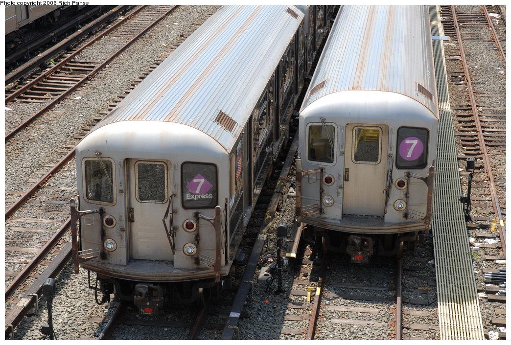 (276k, 1044x705)<br><b>Country:</b> United States<br><b>City:</b> New York<br><b>System:</b> New York City Transit<br><b>Location:</b> Corona Yard<br><b>Car:</b> R-62A (Bombardier, 1984-1987)  2008 <br><b>Photo by:</b> Richard Panse<br><b>Date:</b> 5/20/2006<br><b>Viewed (this week/total):</b> 2 / 2133