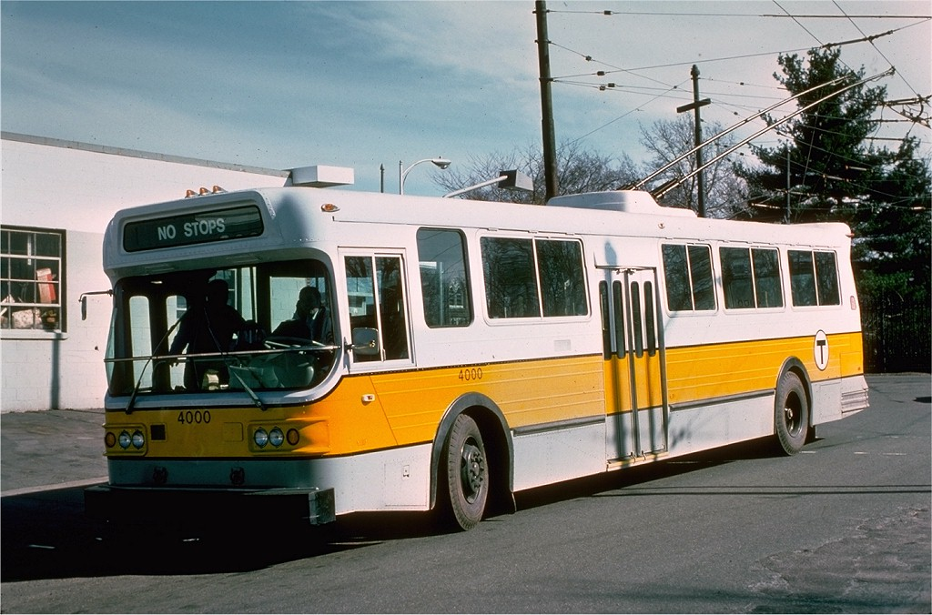 (197k, 1024x676)<br><b>Country:</b> United States<br><b>City:</b> Boston, MA<br><b>System:</b> MBTA Boston<br><b>Line:</b> MBTA Trolleybus (71,72,73)<br><b>Location:</b> Massachusetts Ave. (71/73)<br><b>Car:</b> MBTA Trolleybus 4000 <br><b>Photo by:</b> Joe Testagrose<br><b>Date:</b> 3/22/1976<br><b>Viewed (this week/total):</b> 0 / 1540