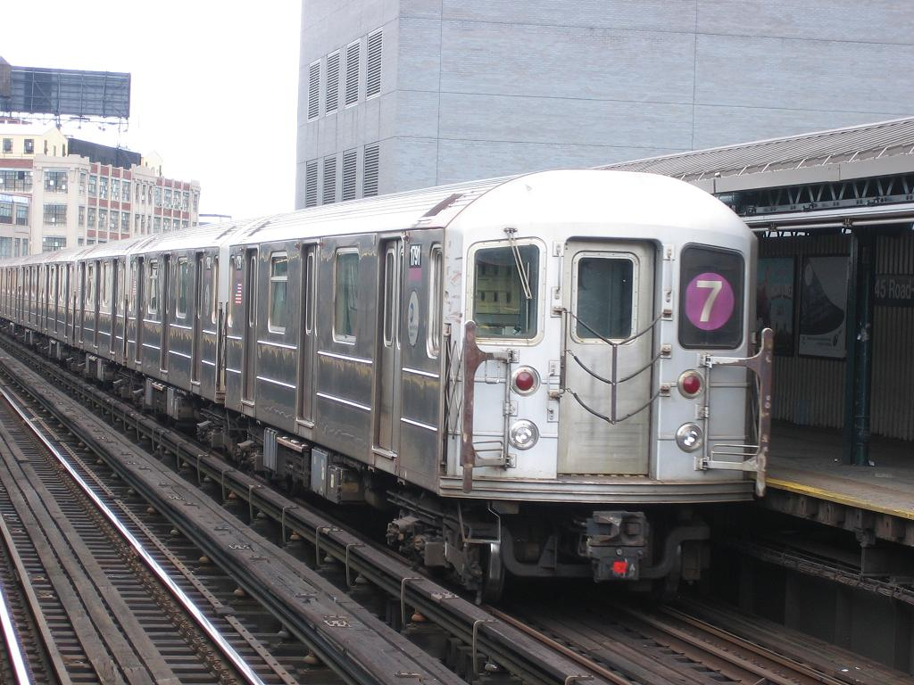 (133k, 1024x768)<br><b>Country:</b> United States<br><b>City:</b> New York<br><b>System:</b> New York City Transit<br><b>Line:</b> IRT Flushing Line<br><b>Location:</b> Court House Square/45th Road <br><b>Route:</b> 7<br><b>Car:</b> R-62A (Bombardier, 1984-1987)  1791 <br><b>Photo by:</b> Michael Hodurski<br><b>Date:</b> 6/4/2006<br><b>Viewed (this week/total):</b> 3 / 2038