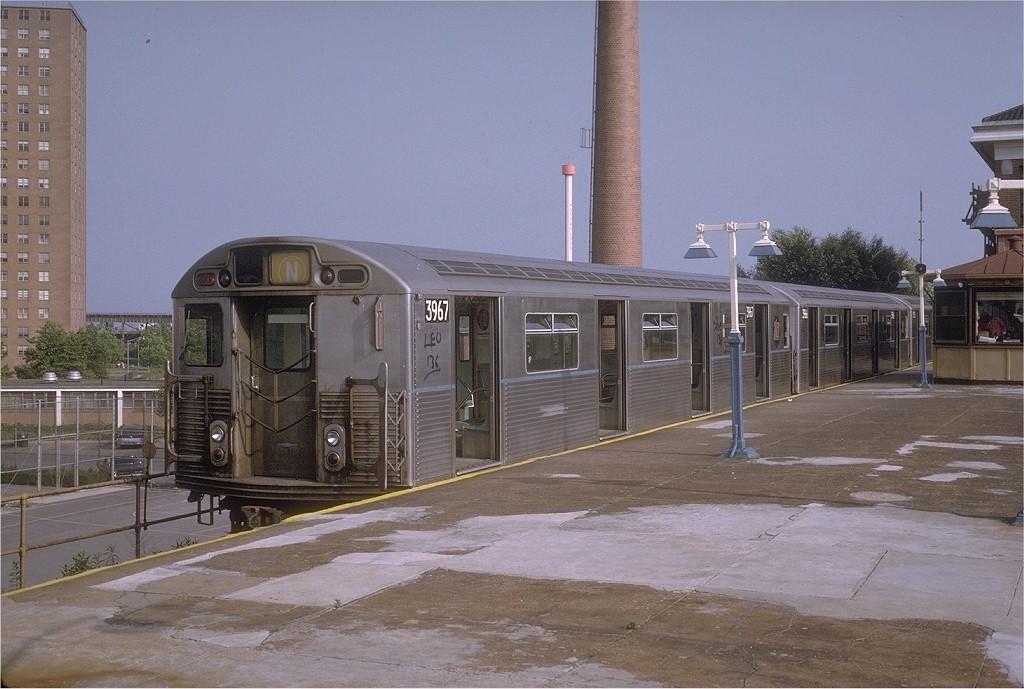 (187k, 1024x689)<br><b>Country:</b> United States<br><b>City:</b> New York<br><b>System:</b> New York City Transit<br><b>Location:</b> Coney Island/Stillwell Avenue<br><b>Route:</b> N<br><b>Car:</b> R-38 (St. Louis, 1966-1967)  3967 <br><b>Photo by:</b> Steve Zabel<br><b>Collection of:</b> Joe Testagrose<br><b>Date:</b> 7/1/1972<br><b>Viewed (this week/total):</b> 4 / 4173
