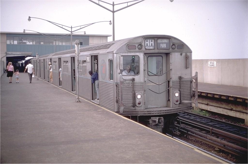 (177k, 1024x678)<br><b>Country:</b> United States<br><b>City:</b> New York<br><b>System:</b> New York City Transit<br><b>Line:</b> IND Rockaway<br><b>Location:</b> Broad Channel <br><b>Route:</b> HH<br><b>Car:</b> R-38 (St. Louis, 1966-1967)  3983 <br><b>Photo by:</b> Doug Grotjahn<br><b>Collection of:</b> Joe Testagrose<br><b>Date:</b> 9/1/1969<br><b>Viewed (this week/total):</b> 4 / 4815