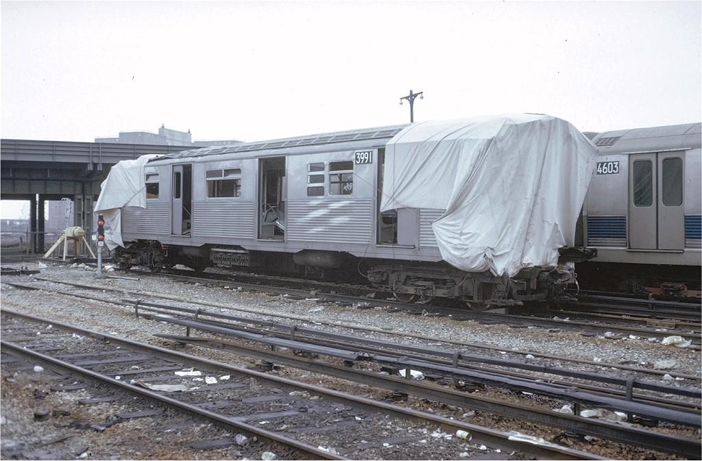 (201k, 1024x673)<br><b>Country:</b> United States<br><b>City:</b> New York<br><b>System:</b> New York City Transit<br><b>Location:</b> Coney Island Yard<br><b>Car:</b> R-38 (St. Louis, 1966-1967)  3991 <br><b>Photo by:</b> Steve Zabel<br><b>Collection of:</b> Joe Testagrose<br><b>Date:</b> 3/15/1973<br><b>Viewed (this week/total):</b> 1 / 12039