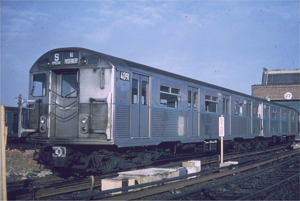 (182k, 1024x687)<br><b>Country:</b> United States<br><b>City:</b> New York<br><b>System:</b> New York City Transit<br><b>Location:</b> Coney Island Yard<br><b>Car:</b> R-38 (St. Louis, 1966-1967)  4091 <br><b>Photo by:</b> Joe Testagrose<br><b>Date:</b> 8/1968<br><b>Viewed (this week/total):</b> 8 / 3307