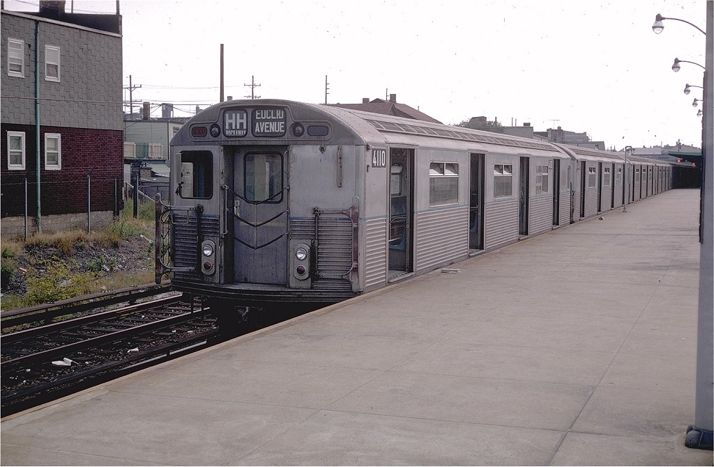(190k, 1024x671)<br><b>Country:</b> United States<br><b>City:</b> New York<br><b>System:</b> New York City Transit<br><b>Line:</b> IND Rockaway<br><b>Location:</b> Rockaway Park/Beach 116th Street <br><b>Route:</b> HH<br><b>Car:</b> R-38 (St. Louis, 1966-1967)  4110 <br><b>Collection of:</b> Joe Testagrose<br><b>Date:</b> 9/1/1969<br><b>Viewed (this week/total):</b> 3 / 4927