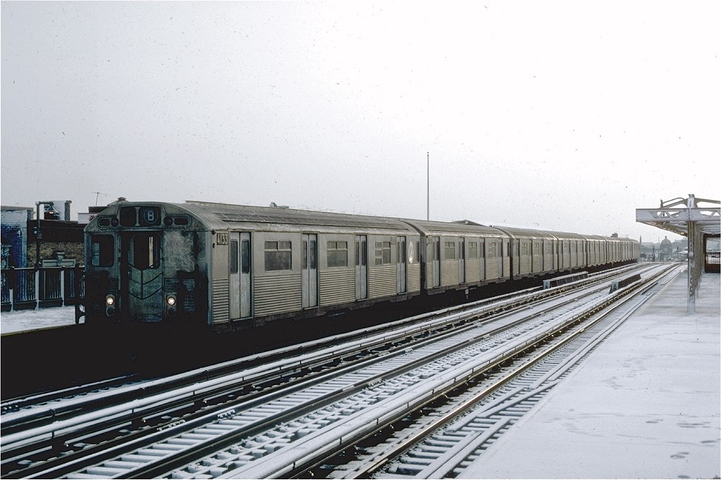 (182k, 1024x682)<br><b>Country:</b> United States<br><b>City:</b> New York<br><b>System:</b> New York City Transit<br><b>Line:</b> BMT West End Line<br><b>Location:</b> 20th Avenue <br><b>Route:</b> B<br><b>Car:</b> R-38 (St. Louis, 1966-1967)  4133 <br><b>Photo by:</b> Steve Zabel<br><b>Collection of:</b> Joe Testagrose<br><b>Date:</b> 2/16/1981<br><b>Viewed (this week/total):</b> 5 / 3791