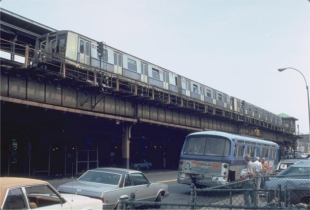 (195k, 1024x694)<br><b>Country:</b> United States<br><b>City:</b> New York<br><b>System:</b> New York City Transit<br><b>Location:</b> Coney Island/Stillwell Avenue<br><b>Route:</b> B<br><b>Car:</b> R-40 (St. Louis, 1968)  4180 <br><b>Photo by:</b> Steve Zabel<br><b>Collection of:</b> Joe Testagrose<br><b>Date:</b> 7/26/1981<br><b>Viewed (this week/total):</b> 1 / 7424