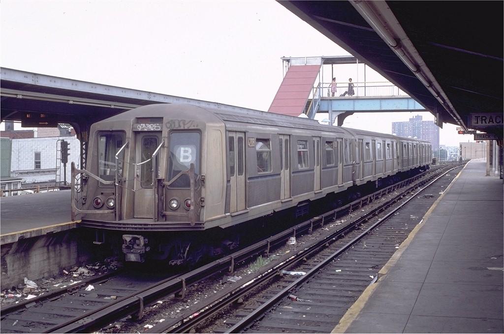 (188k, 1024x680)<br><b>Country:</b> United States<br><b>City:</b> New York<br><b>System:</b> New York City Transit<br><b>Location:</b> Coney Island/Stillwell Avenue<br><b>Route:</b> B<br><b>Car:</b> R-40 (St. Louis, 1968)  4208 <br><b>Photo by:</b> Doug Grotjahn<br><b>Collection of:</b> Joe Testagrose<br><b>Date:</b> 8/2/1981<br><b>Viewed (this week/total):</b> 0 / 5218