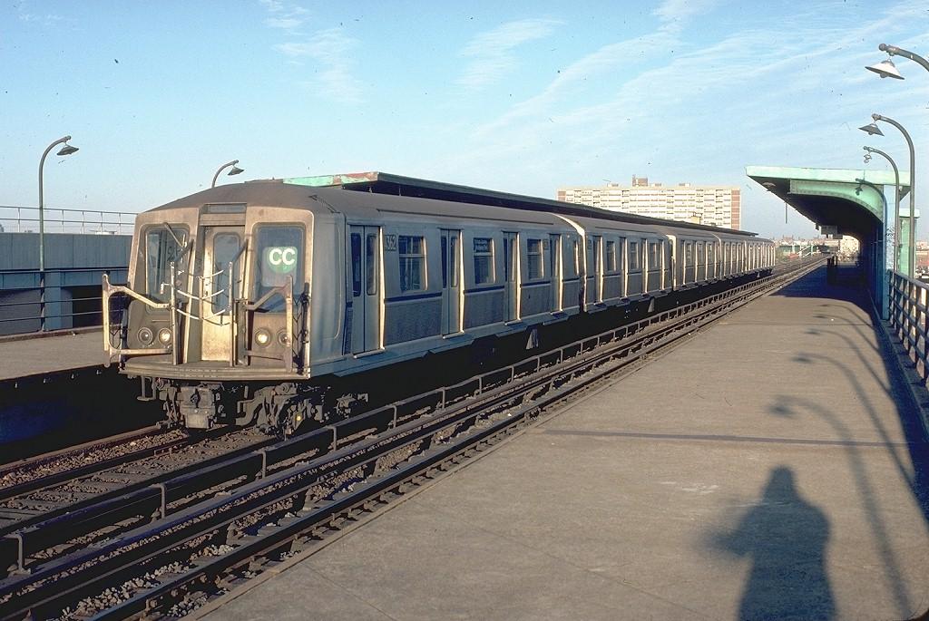 (219k, 1024x685)<br><b>Country:</b> United States<br><b>City:</b> New York<br><b>System:</b> New York City Transit<br><b>Line:</b> IND Rockaway<br><b>Location:</b> Beach 105th Street/Seaside <br><b>Route:</b> CC<br><b>Car:</b> R-40 (St. Louis, 1968)  4362 (ex-4462)<br><b>Photo by:</b> Doug Grotjahn<br><b>Collection of:</b> Joe Testagrose<br><b>Date:</b> 10/19/1980<br><b>Viewed (this week/total):</b> 18 / 5750
