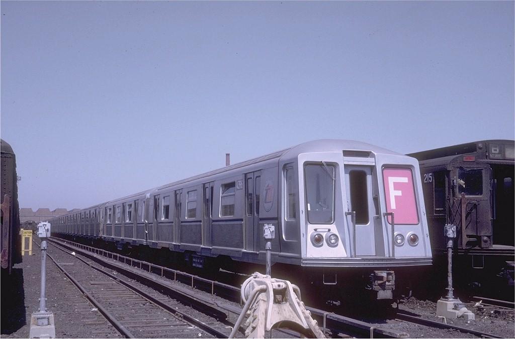 (158k, 1024x675)<br><b>Country:</b> United States<br><b>City:</b> New York<br><b>System:</b> New York City Transit<br><b>Location:</b> Coney Island Yard<br><b>Car:</b> R-40 (St. Louis, 1968)  4396 <br><b>Photo by:</b> Joe Testagrose<br><b>Date:</b> 4/1968<br><b>Viewed (this week/total):</b> 0 / 3749