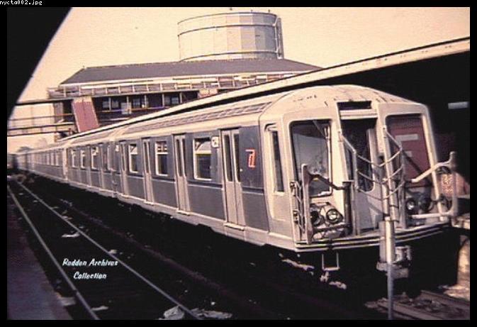 (58k, 673x461)<br><b>Country:</b> United States<br><b>City:</b> New York<br><b>System:</b> New York City Transit<br><b>Location:</b> Coney Island/Stillwell Avenue<br><b>Route:</b> F<br><b>Car:</b> R-40 (St. Louis, 1968)   <br><b>Collection of:</b> Bob Redden<br><b>Viewed (this week/total):</b> 3 / 5382