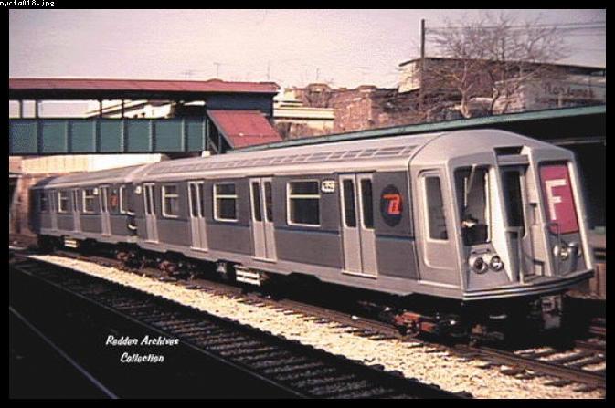 (60k, 673x447)<br><b>Country:</b> United States<br><b>City:</b> New York<br><b>System:</b> New York City Transit<br><b>Line:</b> BMT Sea Beach Line<br><b>Location:</b> 8th Avenue <br><b>Car:</b> R-40 (St. Louis, 1968)  4539 <br><b>Collection of:</b> Bob Redden<br><b>Notes:</b> Cars being tested<br><b>Viewed (this week/total):</b> 2 / 5237