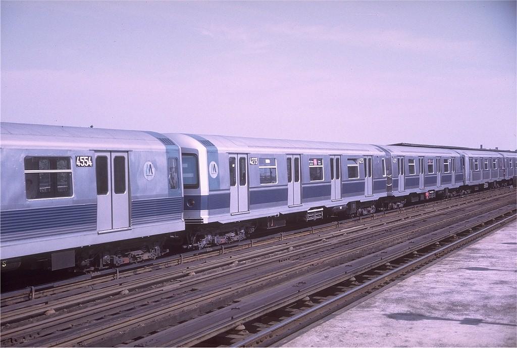 (202k, 1024x689)<br><b>Country:</b> United States<br><b>City:</b> New York<br><b>System:</b> New York City Transit<br><b>Line:</b> BMT Culver Line<br><b>Location:</b> Avenue P <br><b>Route:</b> F<br><b>Car:</b> R-40M (St. Louis, 1969)  4273 <br><b>Photo by:</b> Doug Grotjahn<br><b>Collection of:</b> Joe Testagrose<br><b>Date:</b> 6/7/1969<br><b>Viewed (this week/total):</b> 0 / 3425
