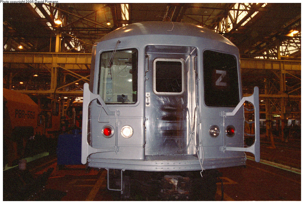 (286k, 1044x702)<br><b>Country:</b> United States<br><b>City:</b> New York<br><b>System:</b> New York City Transit<br><b>Location:</b> Coney Island Shop/Overhaul & Repair Shop<br><b>Car:</b> R-40M (St. Louis, 1969)   <br><b>Photo by:</b> David Pirmann<br><b>Date:</b> 2/24/1996<br><b>Viewed (this week/total):</b> 6 / 4114