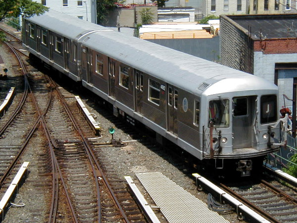 (107k, 600x450)<br><b>Country:</b> United States<br><b>City:</b> New York<br><b>System:</b> New York City Transit<br><b>Location:</b> East New York Yard/Shops<br><b>Car:</b> R-42 (St. Louis, 1969-1970)  4682 <br><b>Photo by:</b> Trevor Logan<br><b>Date:</b> 9/7/2001<br><b>Viewed (this week/total):</b> 0 / 4735