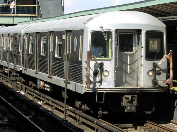 (81k, 600x450)<br><b>Country:</b> United States<br><b>City:</b> New York<br><b>System:</b> New York City Transit<br><b>Location:</b> Coney Island/Stillwell Avenue<br><b>Route:</b> M<br><b>Car:</b> R-42 (St. Louis, 1969-1970)  4816 <br><b>Photo by:</b> Trevor Logan<br><b>Date:</b> 9/19/2001<br><b>Viewed (this week/total):</b> 1 / 4703