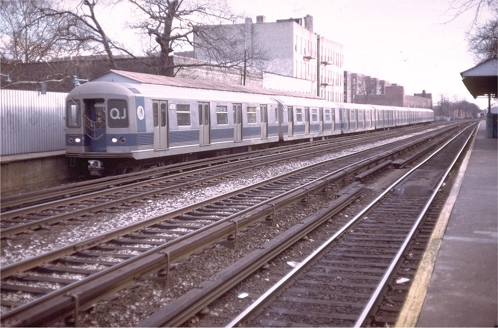 (247k, 1024x674)<br><b>Country:</b> United States<br><b>City:</b> New York<br><b>System:</b> New York City Transit<br><b>Line:</b> BMT Brighton Line<br><b>Location:</b> Avenue H <br><b>Route:</b> QJ<br><b>Car:</b> R-42 (St. Louis, 1969-1970)  4858 <br><b>Photo by:</b> Doug Grotjahn<br><b>Collection of:</b> Joe Testagrose<br><b>Date:</b> 12/28/1972<br><b>Viewed (this week/total):</b> 1 / 3438