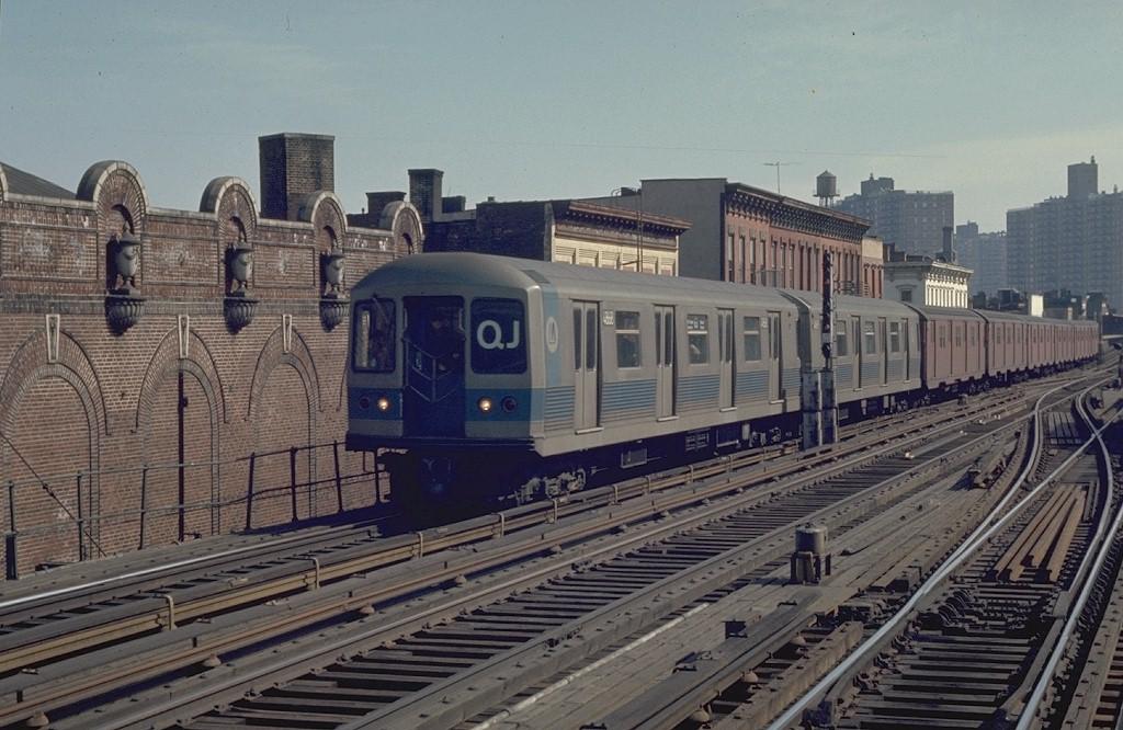 (201k, 1024x666)<br><b>Country:</b> United States<br><b>City:</b> New York<br><b>System:</b> New York City Transit<br><b>Line:</b> BMT Nassau Street/Jamaica Line<br><b>Location:</b> Marcy Avenue <br><b>Route:</b> QJ<br><b>Car:</b> R-42 (St. Louis, 1969-1970)  4868 <br><b>Photo by:</b> Joe Testagrose<br><b>Date:</b> 2/22/1970<br><b>Viewed (this week/total):</b> 2 / 4925
