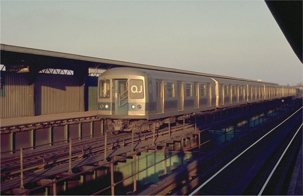 (169k, 1024x663)<br><b>Country:</b> United States<br><b>City:</b> New York<br><b>System:</b> New York City Transit<br><b>Line:</b> BMT Nassau Street/Jamaica Line<br><b>Location:</b> 102nd-104th Streets <br><b>Route:</b> QJ<br><b>Car:</b> R-42 (St. Louis, 1969-1970)  4879 <br><b>Photo by:</b> Joe Testagrose<br><b>Date:</b> 2/28/1970<br><b>Viewed (this week/total):</b> 3 / 4325