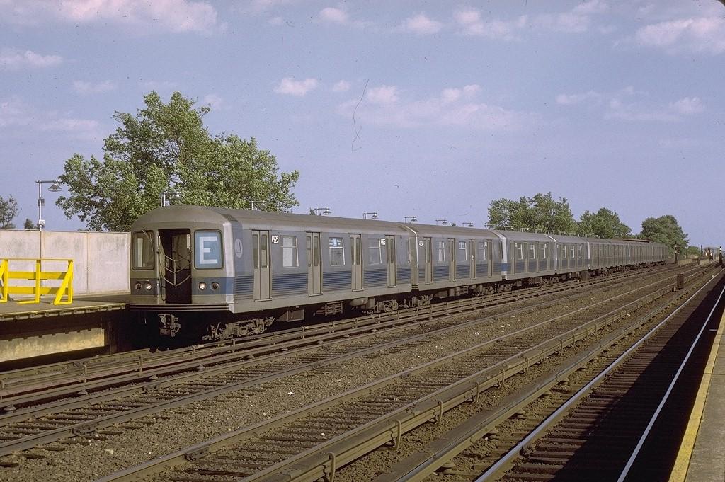 (241k, 1024x681)<br><b>Country:</b> United States<br><b>City:</b> New York<br><b>System:</b> New York City Transit<br><b>Line:</b> IND Rockaway<br><b>Location:</b> Aqueduct/North Conduit Avenue <br><b>Route:</b> E<br><b>Car:</b> R-42 (St. Louis, 1969-1970)  4925 <br><b>Photo by:</b> Joe Testagrose<br><b>Date:</b> 7/7/1971<br><b>Viewed (this week/total):</b> 5 / 3766