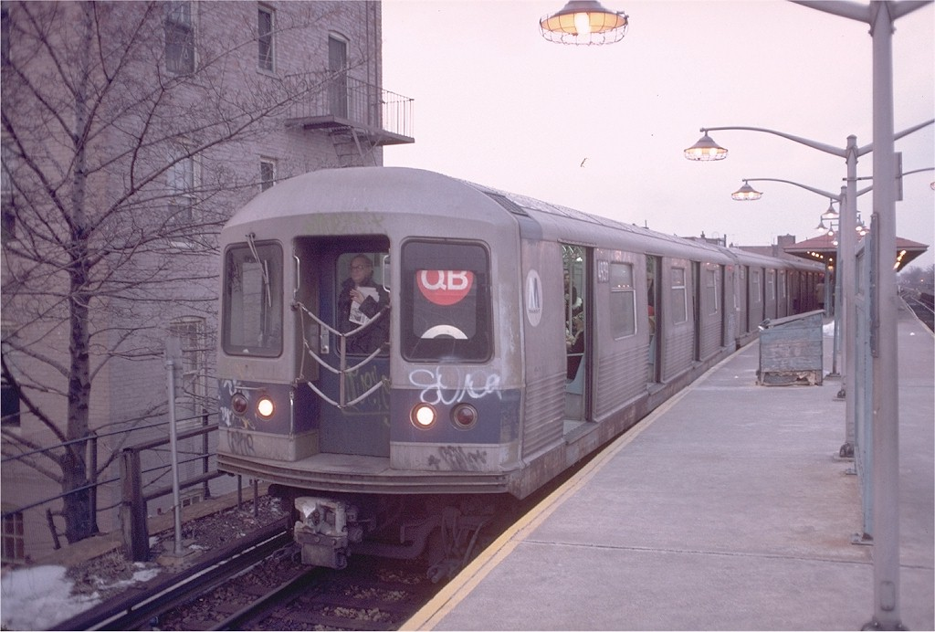 (171k, 1024x692)<br><b>Country:</b> United States<br><b>City:</b> New York<br><b>System:</b> New York City Transit<br><b>Line:</b> BMT Brighton Line<br><b>Location:</b> Kings Highway <br><b>Car:</b> R-42 (St. Louis, 1969-1970)  4939 <br><b>Photo by:</b> Doug Grotjahn<br><b>Collection of:</b> Joe Testagrose<br><b>Date:</b> 3/1/1978<br><b>Viewed (this week/total):</b> 3 / 5746