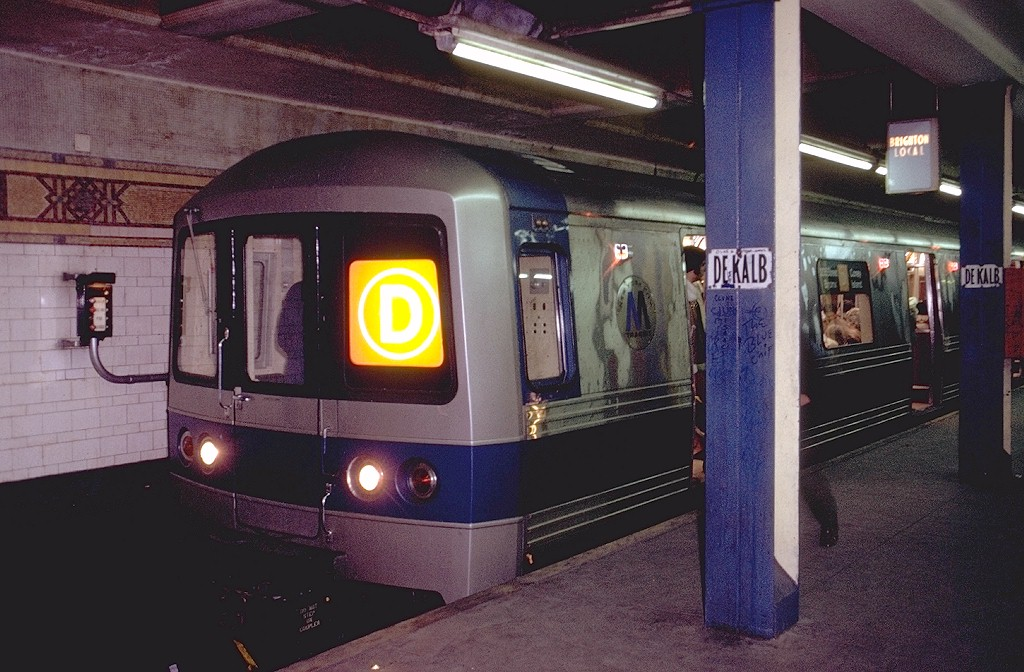 (200k, 1024x672)<br><b>Country:</b> United States<br><b>City:</b> New York<br><b>System:</b> New York City Transit<br><b>Location:</b> DeKalb Avenue<br><b>Route:</b> D<br><b>Car:</b> R-44 (St. Louis, 1971-73) 112 <br><b>Photo by:</b> Doug Grotjahn<br><b>Collection of:</b> Joe Testagrose<br><b>Date:</b> 1/15/1972<br><b>Viewed (this week/total):</b> 1 / 5825