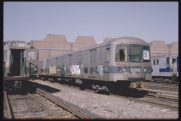 (129k, 768x512)<br><b>Country:</b> United States<br><b>City:</b> New York<br><b>System:</b> New York City Transit<br><b>Location:</b> Coney Island Yard<br><b>Car:</b> R-44 (St. Louis, 1971-73) 116 <br><b>Photo by:</b> Steve Zabel<br><b>Collection of:</b> Joe Testagrose<br><b>Date:</b> 3/20/1974<br><b>Viewed (this week/total):</b> 3 / 5199