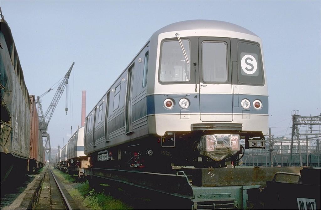 (159k, 1024x668)<br><b>Country:</b> United States<br><b>City:</b> Hoboken, NJ<br><b>System:</b> New York City Transit<br><b>Location:</b> Hoboken Yard <br><b>Car:</b> R-46 (Pullman-Standard, 1974-75) 1100 <br><b>Photo by:</b> Ed McKernan<br><b>Collection of:</b> Joe Testagrose<br><b>Date:</b> 8/5/1977<br><b>Viewed (this week/total):</b> 1 / 3721