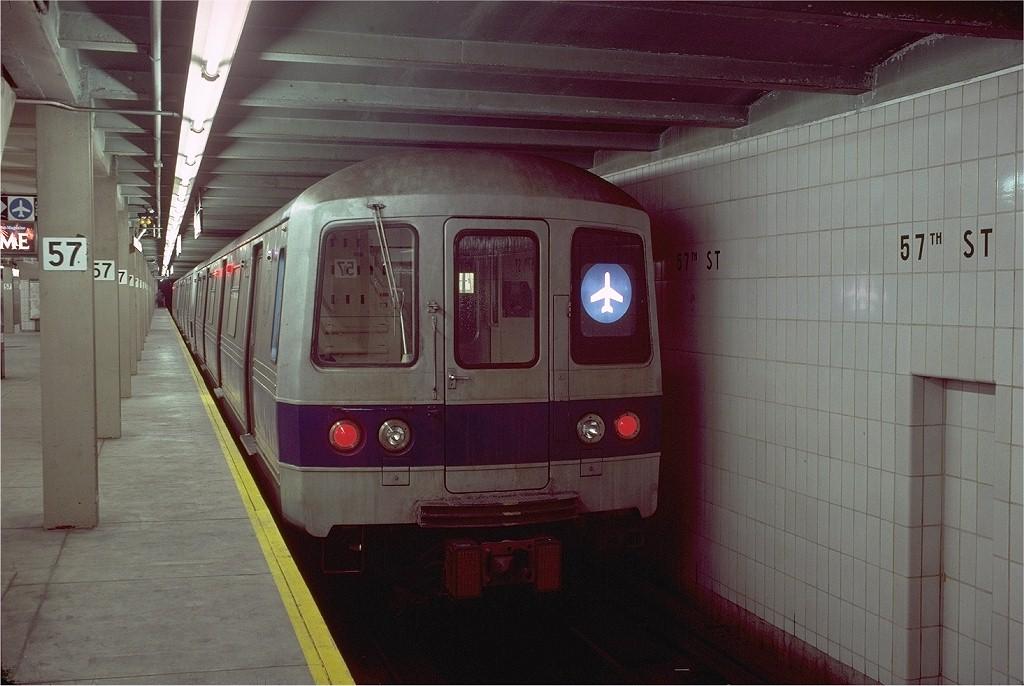(175k, 1024x686)<br><b>Country:</b> United States<br><b>City:</b> New York<br><b>System:</b> New York City Transit<br><b>Line:</b> IND 6th Avenue Line<br><b>Location:</b> 57th Street <br><b>Route:</b> JFK<br><b>Car:</b> R-46 (Pullman-Standard, 1974-75) 1228 <br><b>Photo by:</b> Doug Grotjahn<br><b>Collection of:</b> Joe Testagrose<br><b>Date:</b> 11/4/1980<br><b>Viewed (this week/total):</b> 1 / 11455