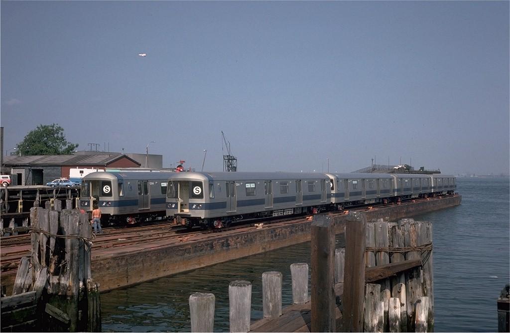 (160k, 1024x668)<br><b>Country:</b> United States<br><b>City:</b> New York<br><b>System:</b> New York City Transit<br><b>Line:</b> South Brooklyn Railway<br><b>Location:</b> Bush Terminal/New York Dock RR - 1st Ave & 51st (BTRR)<br><b>Car:</b> R-46 (Pullman-Standard, 1974-75) 1264 <br><b>Photo by:</b> Steve Zabel<br><b>Collection of:</b> Joe Testagrose<br><b>Date:</b> 6/27/1977<br><b>Viewed (this week/total):</b> 0 / 4920