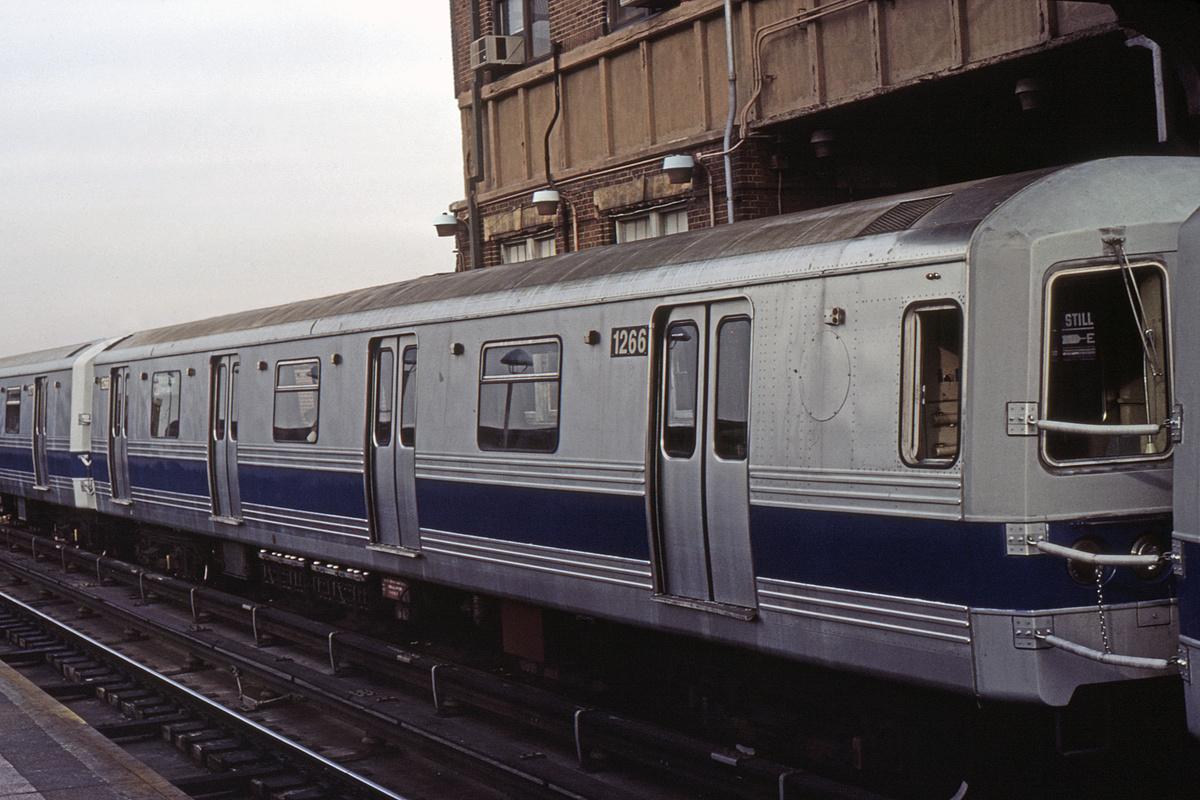 (437k, 1044x706)<br><b>Country:</b> United States<br><b>City:</b> New York<br><b>System:</b> New York City Transit<br><b>Location:</b> Coney Island/Stillwell Avenue<br><b>Car:</b> R-46 (Pullman-Standard, 1974-75) 1266 <br><b>Collection of:</b> David Pirmann<br><b>Viewed (this week/total):</b> 0 / 5926
