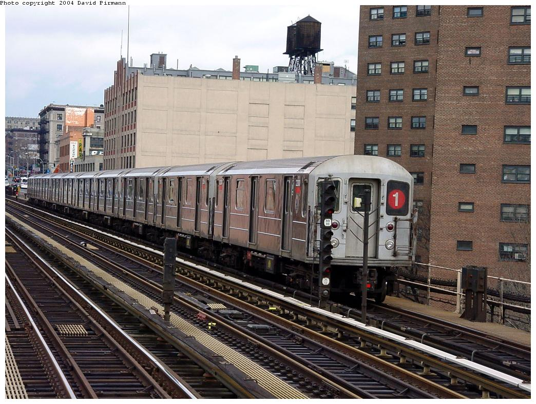 (178k, 1044x788)<br><b>Country:</b> United States<br><b>City:</b> New York<br><b>System:</b> New York City Transit<br><b>Line:</b> IRT West Side Line<br><b>Location:</b> 125th Street <br><b>Route:</b> 1<br><b>Car:</b> R-62A (Bombardier, 1984-1987)  2200 <br><b>Photo by:</b> David Pirmann<br><b>Date:</b> 3/12/2000<br><b>Viewed (this week/total):</b> 0 / 3920