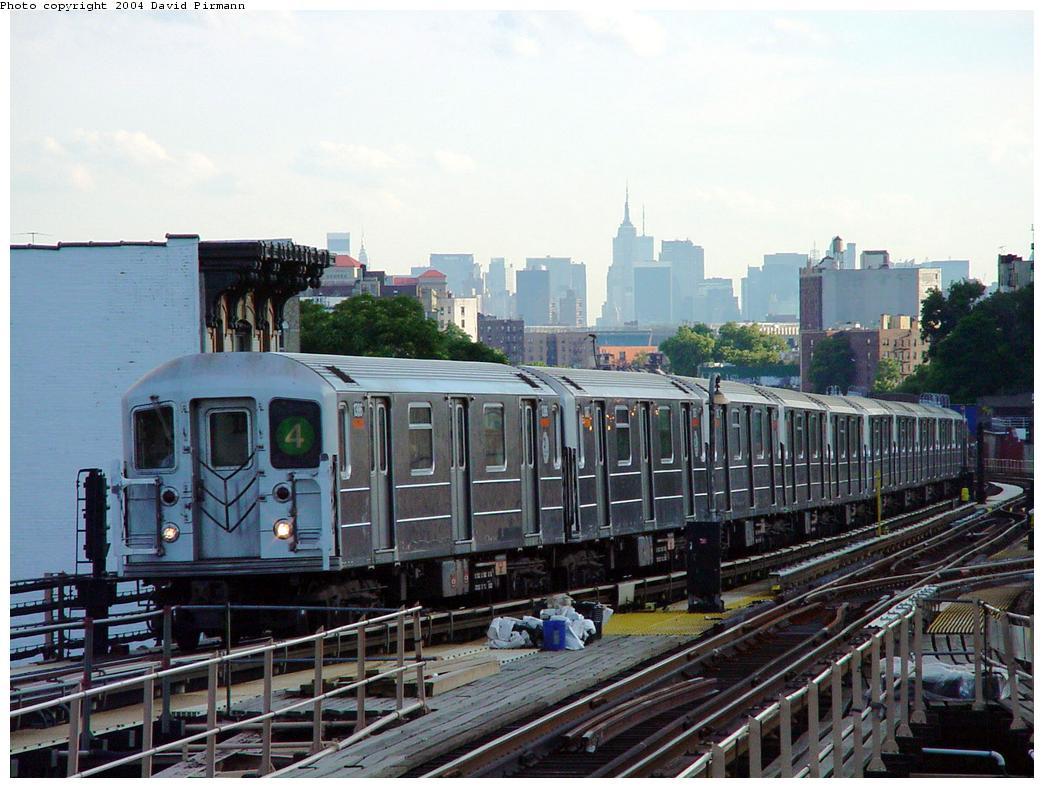(134k, 1044x788)<br><b>Country:</b> United States<br><b>City:</b> New York<br><b>System:</b> New York City Transit<br><b>Line:</b> IRT Woodlawn Line<br><b>Location:</b> Burnside Avenue <br><b>Route:</b> 4<br><b>Car:</b> R-62 (Kawasaki, 1983-1985)  1366 <br><b>Photo by:</b> David Pirmann<br><b>Date:</b> 7/12/2001<br><b>Viewed (this week/total):</b> 0 / 6147