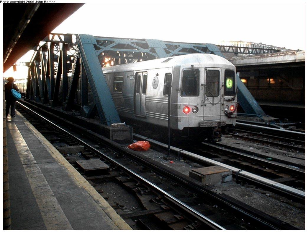 (159k, 1044x788)<br><b>Country:</b> United States<br><b>City:</b> New York<br><b>System:</b> New York City Transit<br><b>Line:</b> IND Crosstown Line<br><b>Location:</b> 4th Avenue <br><b>Route:</b> G<br><b>Car:</b> R-46 (Pullman-Standard, 1974-75) 6062 <br><b>Photo by:</b> John Barnes<br><b>Date:</b> 4/10/2006<br><b>Viewed (this week/total):</b> 3 / 2772