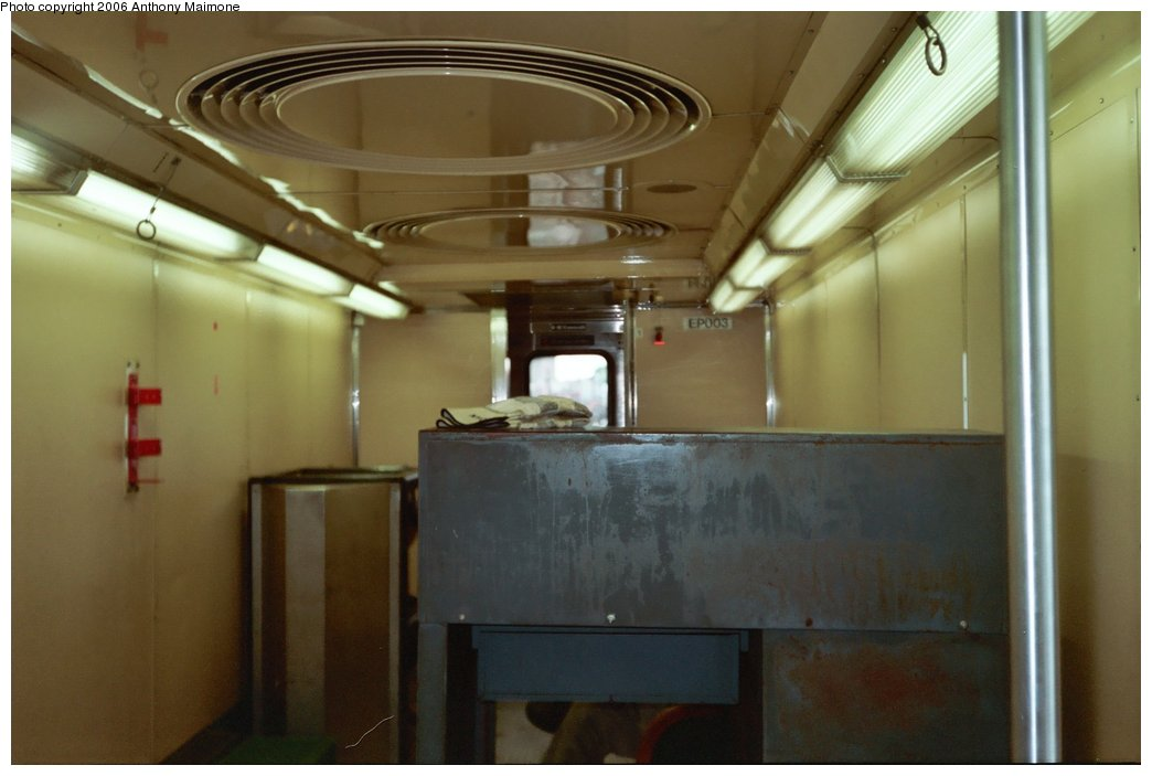 (114k, 1044x703)<br><b>Country:</b> United States<br><b>City:</b> New York<br><b>System:</b> New York City Transit<br><b>Car:</b> R-127/R-134 (Kawasaki, 1991-1996) EP003 <br><b>Photo by:</b> Anthony Maimone<br><b>Date:</b> 6/8/2006<br><b>Viewed (this week/total):</b> 1 / 5143