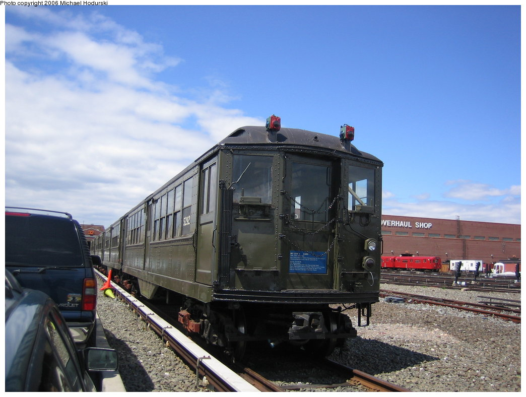 (169k, 1044x788)<br><b>Country:</b> United States<br><b>City:</b> New York<br><b>System:</b> New York City Transit<br><b>Location:</b> Coney Island Yard<br><b>Car:</b> Low-V (Museum Train) 5292 <br><b>Photo by:</b> Michael Hodurski<br><b>Date:</b> 6/10/2006<br><b>Viewed (this week/total):</b> 1 / 2483