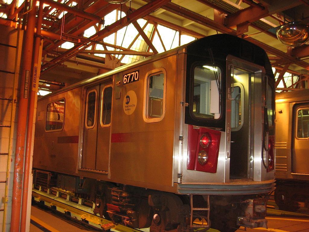 (146k, 1024x768)<br><b>Country:</b> United States<br><b>City:</b> New York<br><b>System:</b> New York City Transit<br><b>Location:</b> Coney Island Shop/Overhaul & Repair Shop<br><b>Car:</b> R-142 (Primary Order, Bombardier, 1999-2002)  6770 <br><b>Photo by:</b> Michael Hodurski<br><b>Date:</b> 6/10/2006<br><b>Viewed (this week/total):</b> 0 / 3458