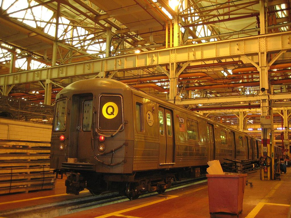 (184k, 1024x768)<br><b>Country:</b> United States<br><b>City:</b> New York<br><b>System:</b> New York City Transit<br><b>Location:</b> Coney Island Shop/Overhaul & Repair Shop<br><b>Car:</b> R-68A (Kawasaki, 1988-1989)  5078 <br><b>Photo by:</b> Michael Hodurski<br><b>Date:</b> 6/10/2006<br><b>Viewed (this week/total):</b> 0 / 2463
