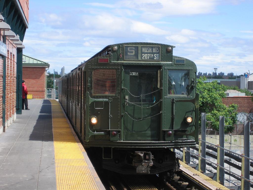 (138k, 1024x768)<br><b>Country:</b> United States<br><b>City:</b> New York<br><b>System:</b> New York City Transit<br><b>Location:</b> Coney Island/Stillwell Avenue<br><b>Route:</b> Fan Trip<br><b>Car:</b> R-1 (American Car & Foundry, 1930-1931) 381 <br><b>Photo by:</b> Michael Hodurski<br><b>Date:</b> 6/10/2006<br><b>Notes:</b> APTA convention special shuttle between Coney Island Yard and Stillwell Ave.<br><b>Viewed (this week/total):</b> 0 / 2272