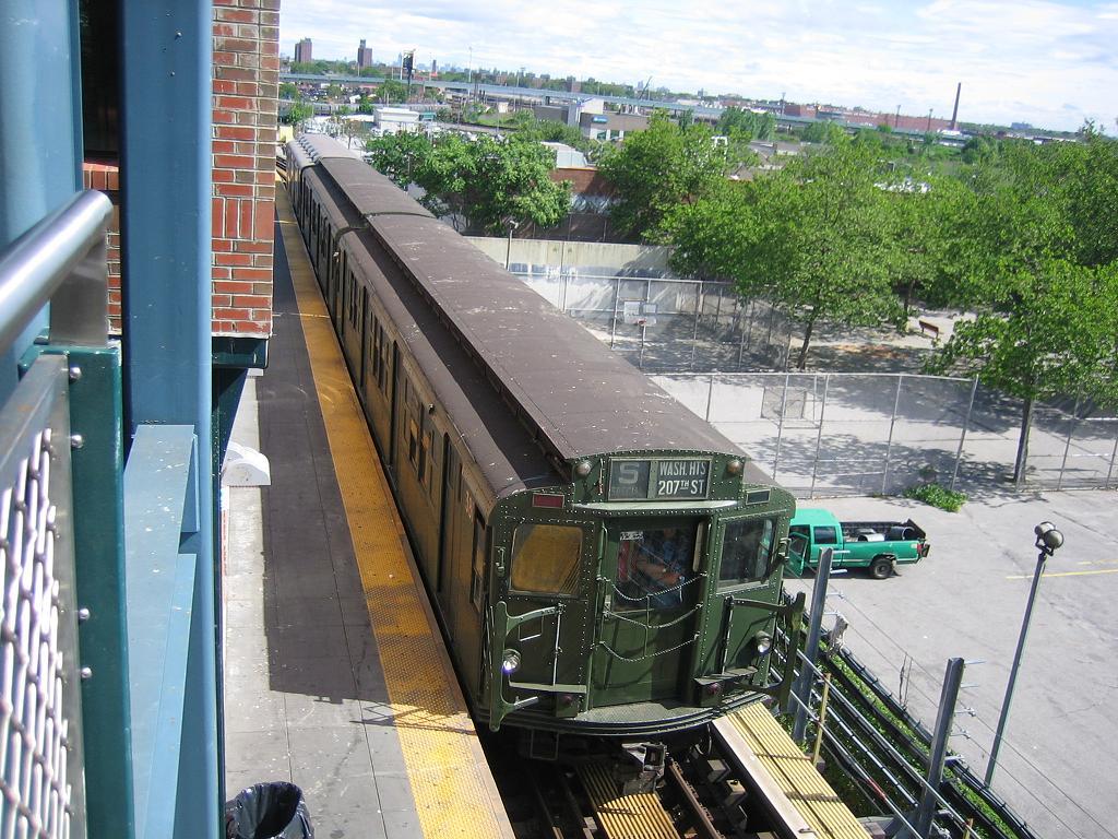 (174k, 1024x768)<br><b>Country:</b> United States<br><b>City:</b> New York<br><b>System:</b> New York City Transit<br><b>Location:</b> Coney Island/Stillwell Avenue<br><b>Route:</b> Fan Trip<br><b>Car:</b> R-1 (American Car & Foundry, 1930-1931) 381 <br><b>Photo by:</b> Michael Hodurski<br><b>Date:</b> 6/10/2006<br><b>Notes:</b> APTA convention special shuttle between Coney Island Yard and Stillwell Ave.<br><b>Viewed (this week/total):</b> 1 / 2633